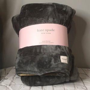 Kate Spade Queen Size Fleece Blanket